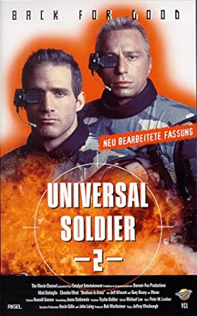 Amazon Com Universal Soldier Ii Brothers In Arms Vhs