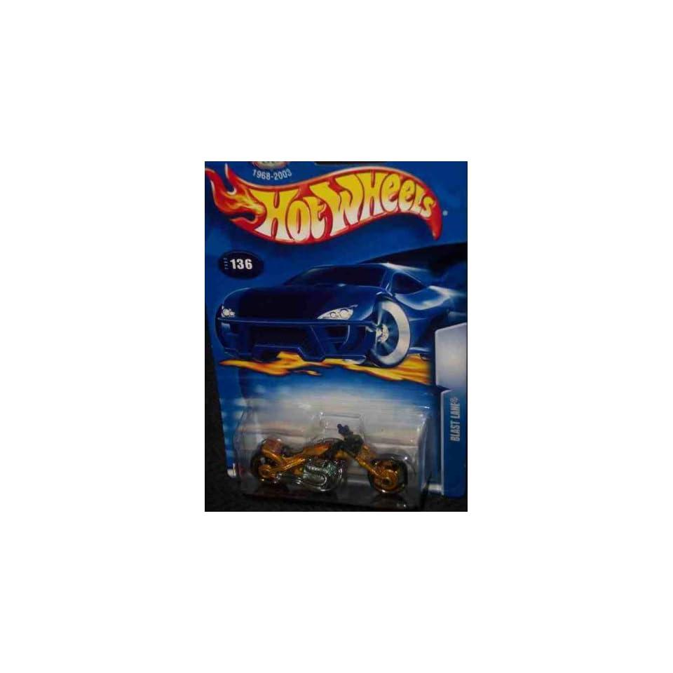 #2003 136 Blast Lane 1968 2003 Card Collectible Collector Car Mattel Hot Wheels