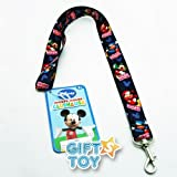 Disney Mickey Mouse Lanyard Key Chain & Key Holder