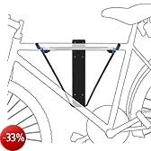 Supporto per Biciclette a Muro fino a 50 Kg Blu-Nero