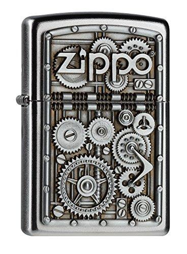 Zippo - Accendino, motivo ingranaggi