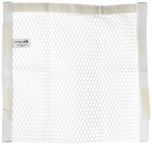 household-essentials-polyester-sneaker-wash-and-dry-bag-white