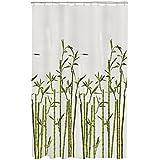 Maytex Bamboo Photo Real PEVA Vinyl Shower Curtain