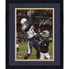 Framed Keenan Allen San Diego Chargers Autographed 8
