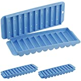 2 Skinny Ice Cube Trays for Narrow-Top Sports Water Bottles