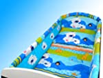 NEW COT BUMPER ALL ROUND BED BEDDING...