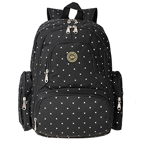 baby-diaper-bag-smart-organizer-waterproof-travel-diaper-backpack-with-changing-pad-and-stroller-cli