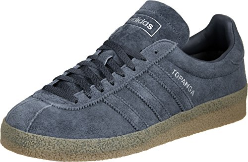 Adidas Topanga - Scarpe Running Uomo, Blu (Utility Blue/Utility Blue/Gum), 44 EU