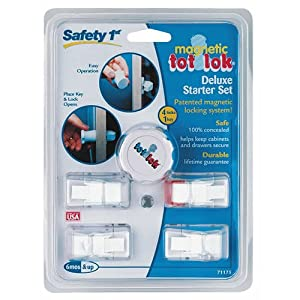 Amazon Com Safety 1st Magnetic Tot Lok Complete Set