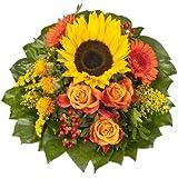 Blumenstrauß  Sonnenlicht mit einer Sonnenblume