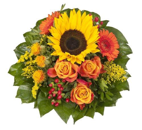 blumenstrauss-sonnenlicht-mit-einer-sonnenblume