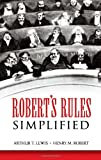 Robert's Rules Simplified (0486450961) by Lewis, Arthur T.