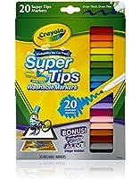 Crayola 20 Ct Washable Super Tip Markers