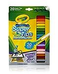 Crayola 20 Ct Super Tips Washable Mar...