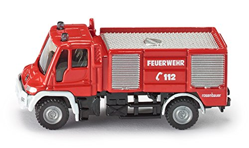 SIKU Super 1:87 Unimog Fire Engine - 1