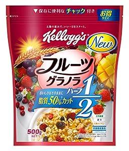 ケロッグ フルーツグラノラ ハーフ 徳用袋 500g×5袋