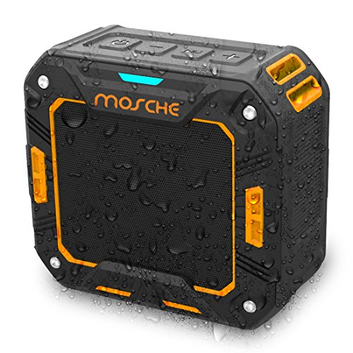 Find Discount Bluetooth Speakers, Mosche Portable Waterproof Bluetooth Speaker 5W for Shower and Out...