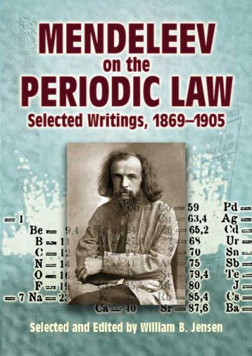Mendeleev on The Periodic Law: Selected Writings