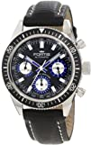 Fortis Mens 800.20.85 L.01 Marinemater Black Automatic Chronograph
