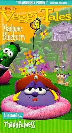 Amazon Com Veggietales Madame Blueberry Vhs Dan