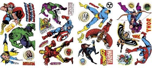 Marvelous Marvel Comics Classics Wall Decals x