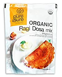 Pure & Sure Organic Ragi Dosa Mix, 250g