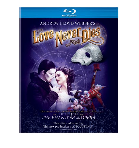 Cover art for  Andrew Lloyd Webber&#039;s Love Never Dies [Blu-ray]