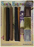 Manuscript Pen 7271BGB Decorative Sealing Extras, Black and Gold