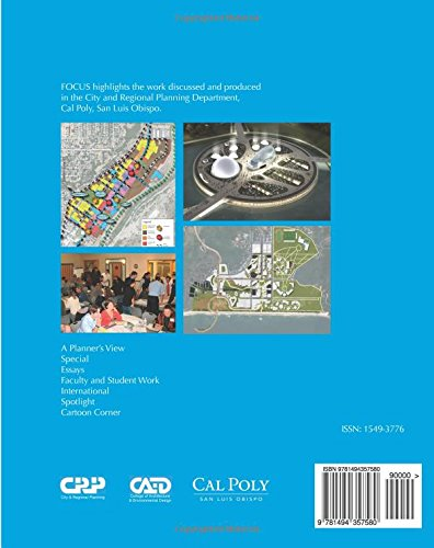 Focus 10_2013: Journal of the City and Regional Planning Department: Volume 10