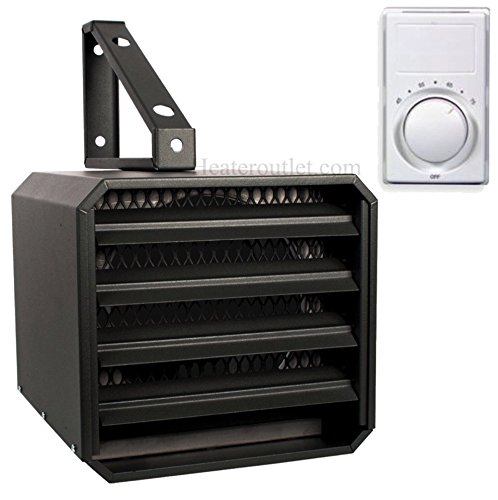 Electric Garage Heater Stelpro Ruh5 With Wall Thermostat - Safe And Reliable Heat For 500 Sq. Ft. Wall Thermostats Give An Accurate Room Temperature Every Time. A Safe 240 Volt Heater That'S Easy To Use And Install For Years Of Hard Work.