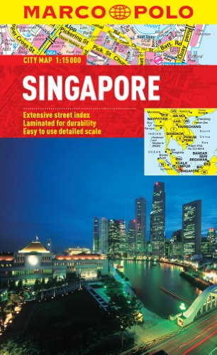 Singapore Marco Polo City Map (Marco Polo City Maps)