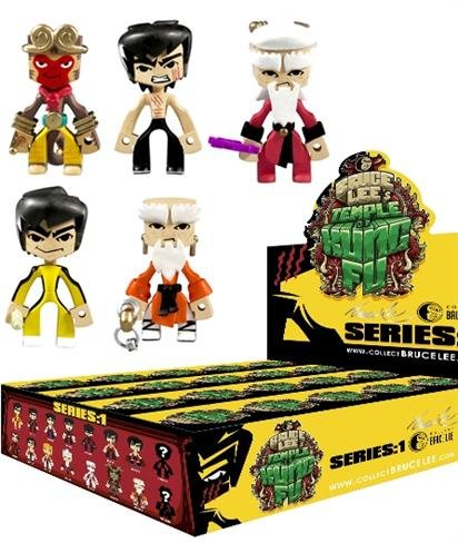 Bruce Lee's Temple of Kung Fu Vinyl Figure Sealed Blind Box Figure