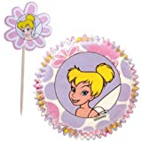 Disney Fairies Tinkerbell Cupcake Liners and Picks Tinker Belle