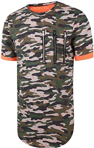 pizoff-unisexe-hip-hop-basic-langes-t-shirt-im-distressed-look-mit-batik-blumen-imprimer-y1726-14-m
