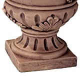 Porta Light Brown Roman Urn Planter