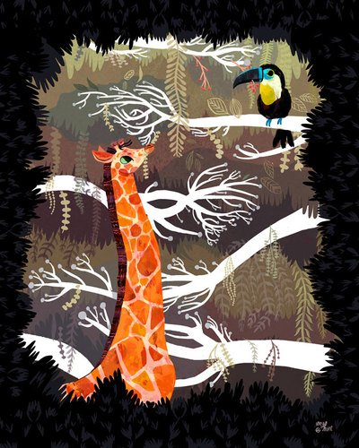 Baby Giraffe Giants