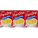 Lipton Cup-A Chicken Noodle Soup - 1.8 Oz - 3 Pack
