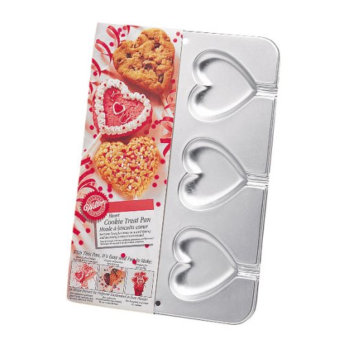 Wilton Heart Cookie Treats Pan