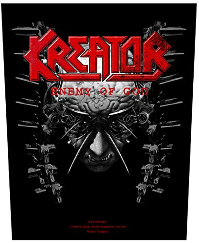 Enemy Of God Kreator - Toppa in gomma, con stampa [BP683]