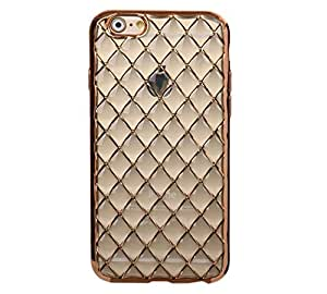 Novo Style Bubble Glow Shine Soft Silicone Back Case cover For Apple iPhone 5- Golden