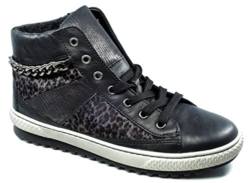 Gabor33.751.57 - Pantofole a Stivaletto Donna , Nero (schw/anthr.(Mel.)), 41