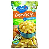 Barbara's Bakery Baked Original Cheese Puffs, 5.5-Ounce Bags (Pack of 12) ~ Barbara's Bakery