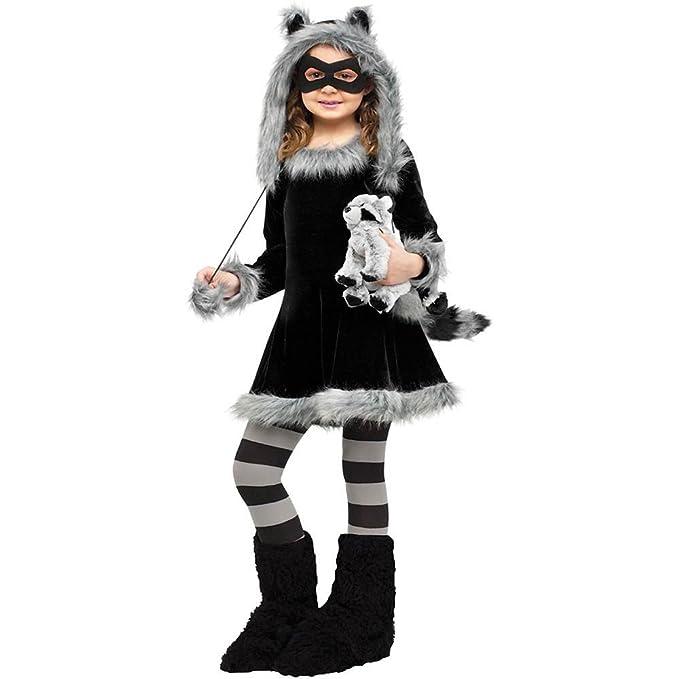 Fun World Sweet Fluffy Raccoon Costume
