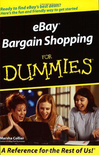 eBay Bargain Shopping For Dummies (For Dummies (Lifestyles Paperback))
