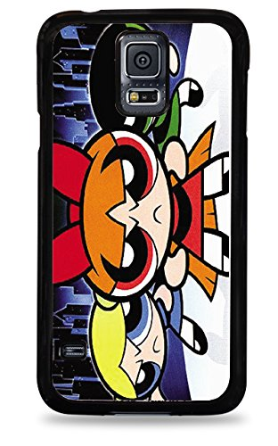 337 Powerpuff Girls Samsung Galaxy S5 Hardshell Case - Black front-540949