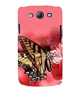 printtech Butterfly Flower Back Case Cover for Samsung Galaxy S3 Neo / Samsung Galaxy S3 Neo i9300i