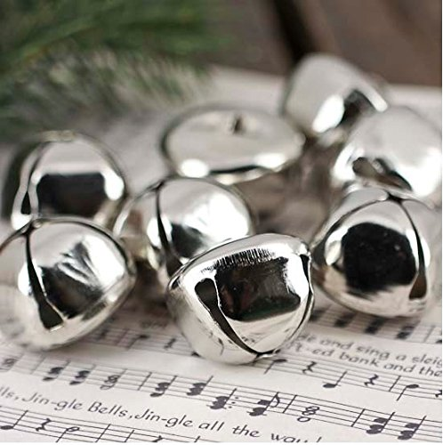 300pcs -- Kraft Jingle Bells -- Value Bulk Jingle Bells Decorative Supplies,