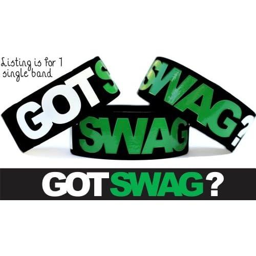 Amazon.com: Got Swag Item on Wristband Merchandise One Inch Bracelet