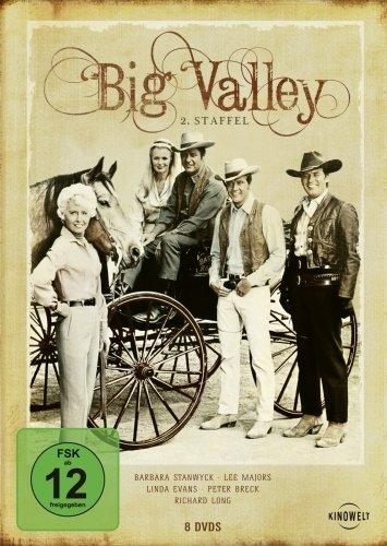 The Big Valley - 2. Staffel [8 DVDs]