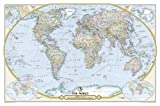 National Geographic Maps National Geographic Society 125th Anniversary World Map Tubed: Wall Maps Countries & Regions (National Geographic Reference Map)